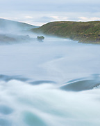 Laxa river in North East Iceland