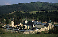 Romania. Putna monastery         / monastčre  de Putna  Roumanie
