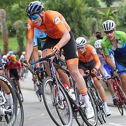 27-08-2020: Wielrennen: EK wielrennen: Plouay <br />David Dekker