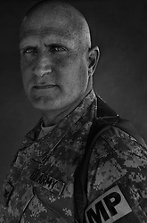 Colonel Mike Galloucis, 49. Boston, MA. Commander, 89th Military Police Brigade. Taken at Camp Liberty, Baghdad on Friday May 25, 2007.