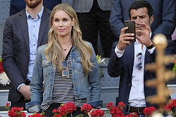 May 14, 2018 - Madrid, Spain - Helen Svedin and Luís Figo  during day 9 of the Mutua Madrid Open tennis tournament at the Caja Magica in Madrid, Spain. on May 12, 2018 in Madrid, Spain  (Credit Image: © Oscar Gonzalez/NurPhoto via ZUMA Press)