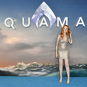 Victoria Clay Arrivers at Aquaman - World Premiere at Cineworld Leicester Square on 26 November 2018, London, UK.