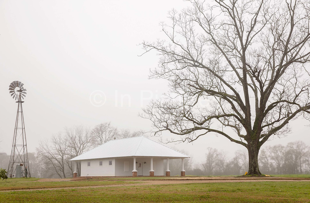 Farmhouse by Highway on 5th March 2020 in Graceville, Alabama, United States of America.