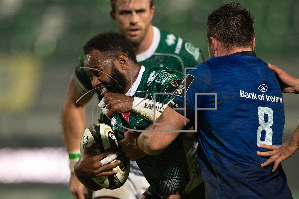 Treviso 10/10/2020 Stadio Monigo<br /> Guinness PRO14 <br /> Benetton Treviso vs Leinster