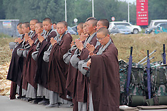 China: Ascetic Nuns Hike in E China, 23 September 2016