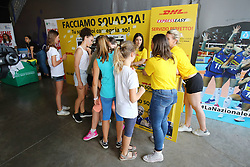 STAND DHL<br /> ITALIA - BULGARIA<br /> PALLAVOLO VNL VOLLEY PERUGIA <br /> PERUGIA 11-06-2019<br /> FOTO GALBIATI - RUBIN