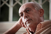 Belo Horizonte, Brasil...Retrato do cineasta Helvecio Raton, que lanca o documentario o Mineiro e o Queijo, com conteudo dos aspectos culturais e economicos do queijo artesanal de Minas Gerais...Portrait of the filmmaker Helvecio Raton, which documentary Mineiro e o Queijo, with content of cultural and economic aspects of artisanal cheese from Minas Gerais...Foto: BRUNO MAGALHAES / NITRO.