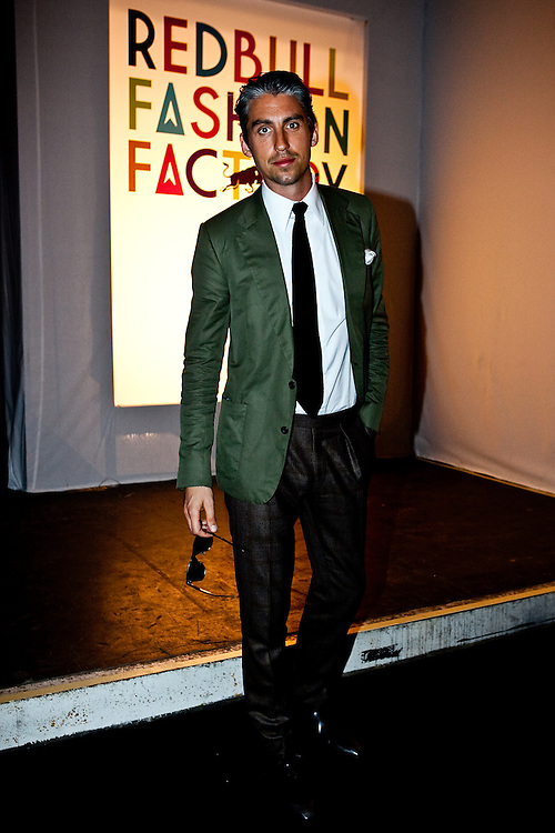 George Lamb at The Red Bull Fashion Factory for the Vivienne Westwood SS10 show