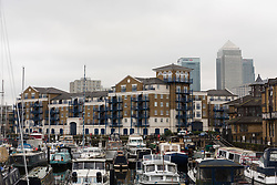 © Licensed to London News Pictures. File picture dated 21/02/17.  A general view of Victory Place luxury apartments in Limehouse, east London. An appeal hearing at the High Court has been brought by the Kuehn's against the blanket no pet policy clause in the leasehold agreement issued by their property management company, Victory Place. The appeal follows a previous hearing at the Mayor's and City of London magistrates court held in February 2017 when Victory Place Management Company brought and won an action to evict the couples dog, Vinnie, a Maltese-Yorkshire terrier cross. The Kuehn's have appealed against the original judgement and are challenging the legality of blanket no pet policies in leasehold contracts. Victory Place Management Company have lodged a counter appeal. Photo credit: Vickie Flores/LNP