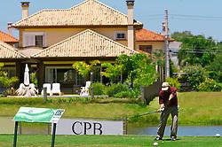 Lance de jogo do XIII Aberto do Belém Novo Golf Club.  FOTO: Itamar Aguiar/Preview.com