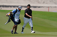 Joel Sjoholm (SWE) on the 9th during Round 3 of the Oman Open 2020 at the Al Mouj Golf Club, Muscat, Oman . 29/02/2020<br /> Picture: Golffile | Thos Caffrey<br /> <br /> <br /> All photo usage must carry mandatory copyright credit (© Golffile | Thos Caffrey)