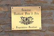 domaine maillard chorey-les-beaune cote de beaune burgundy france