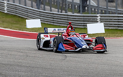 March 23, 2019 - Austin, Texas, U.S. - MATHEUS LEIST (4) of Brazil goes through the turns during practice for the INDYCAR Classic at Circuit Of The Americas in Austin, Texas. (Credit Image: © Walter G Arce Sr Asp Inc/ASP)