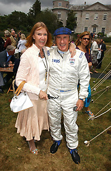 "SIR JACKIE & LADY STEWART at the Goodwood Festival of Speed on 9th July 2006.  Cartier sponsored the ""Style Et Luxe' for vintage cars on the final day of this annual event at Goodwood House, West Sussex and hosted a lunch.<br />