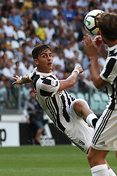 August 19, 2017 - Turin, Italy - Dybala shoots the ball during the Serie A football match n.1 JUVENTUS - CAGLIARI on 19/08/2017 at the Allianz Stadium in Turin, Italy. (Credit Image: © Matteo Bottanelli/NurPhoto via ZUMA Press)