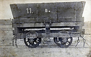 open goods train transport wagon early 1900s France