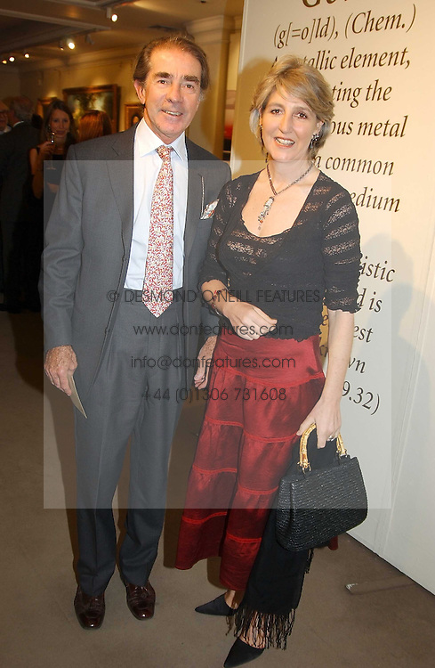EARL & COUNTESS ALEXANDER OF TUNIS at auctioneers Sotheby's Summer party held at their showrooms in 34-35 New Bond Street, London W1 on 6th June 2005.<br />