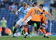 Chris Taylor, Blackburn Rovers midfielder during the Sky Bet Championship match between Blackburn Rovers and Brighton and Hove Albion at Ewood Park, Blackburn, England on 21 March 2015.