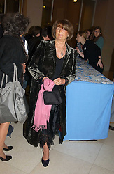 LADY ANNABEL GOLDSMITH at a the Orion Publishing Group Author Party and a private view of the 'Turner Whistler Monet' exhibition at Tate Britain, Atterbury Street, London SW1 on 23rd February 2005.<br /><br />NON EXCLUSIVE - WORLD RIGHTS