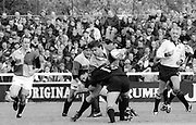 Twickenham, Great Britain,   Harlequins vs London Wasps, The Stoop Stadium, Twickenham, ENGLAND. Saturday 14/03/2015.   <br /> <br /> [Mandatory Credit; Peter Spurrier/Intersport-images]