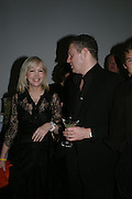 Sally Greene and Rory Bremner,  Ron Silver and Sally Greener. Almeida 25th Anniversay Gala. Gagosian Gallery, Brittania St. Kings Cross. London. 27 January 2005. ONE TIME USE ONLY - DO NOT ARCHIVE  © Copyright Photograph by Dafydd Jones 66 Stockwell Park Rd. London SW9 0DA Tel 020 7733 0108 www.dafjones.com