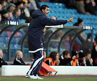 Photo: Paul Thomas.<br /> Leeds United v Southampton. Coca Cola Championship. 18/11/2006.<br /> <br /> Gus Poyet, assistant manager of Leeds.