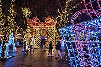 Holiday Decor @ Westlake Park, Downtown Seattle