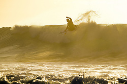 July 12, 2017 - Michel Bourez of Tahiti getting in a morning freesurf at Supertuebs during the first layday of the Corona Open J-Bay...Corona Open J-Bay, Eastern Cape, South Africa - 12 Jul 2017. (Credit Image: © Rex Shutterstock via ZUMA Press)