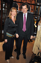 PETER BUTLER and his wife ANNABEL she was Annabel Heseltine at a party to celebrate the publication of 'Young Stalin' by Simon Sebag-Montefiore at Asprey, New Bond Street, London on 14th May 2007.<br /><br />NON EXCLUSIVE - WORLD RIGHTS