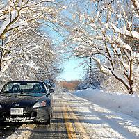 Snowpocalypse S2000 as seen on Jalopnik - http://jalopnik.com/5467697/the-snowpocalypse-as-seen-from-a-honda-s2000-all-wheel-drive-is-for-pansies