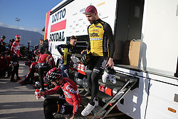 December 15, 2017 - Manacor, Espagne - MANACOR, SPAIN - DECEMBER 15 : CAMPENAERTS Victor (BEL) Rider of Team Lotto - Soudal pictured during the training camp of the Lotto Soudal cycling team on December 15, 2017 in Manacor, Spain, 15/12/17 (Credit Image: © Panoramic via ZUMA Press)