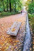 Park in Granada, Andalucia, Spain