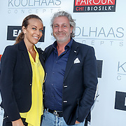 NLD/Rotterdam/20150616 - Modeshow Labee a Porter, advocaat Mark Teurlings en partner Yvette