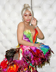 EXCLUSIVE: Blac Chyna shows off her eccentric side with two different flamboyant outfits as she promotes her 'Lashed' cosmetics line at Ru Pauls DragCon 2019 in Los Angeles,CA. 27 May 2019 Pictured: Blac Chyna. Photo credit: MOVI Inc. / MEGA TheMegaAgency.com +1 888 505 6342
