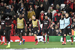 February 12, 2019 - Manchester, France - ECHAUFFEMENT - 11 ANTHONY MARTIAL  (Credit Image: © Panoramic via ZUMA Press)