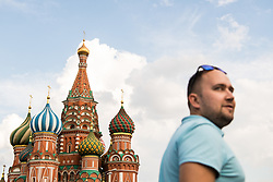 July 13, 2018 - Moscow, Russia - 180713 The Saint Basil's Cathedral at the Red Square during the FIFA World Cup on July 13, 2018 in Moscow..Photo: Petter Arvidson / BILDBYRN / kod PA / 92086 (Credit Image: © Petter Arvidson/Bildbyran via ZUMA Press)