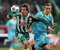Fotball<br /> Østerrike<br /> 25.11.2009<br /> Foto: Gepa/Digitalsport<br /> NORWAY ONLY<br /> <br /> tipp3 Bundesliga powered by T-Mobile, SK Rapid Wien vs SK Sturm Graz. Bild zeigt Ragnvald Soma (Rapid) und Daniel Beichler (Sturm)