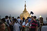 Golden Rock, Thaton District, Mon State, Myanmar