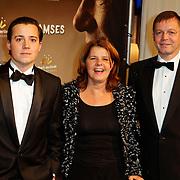 NLD/Den Haag/20111201- Premiere Ramses, Marja Bijsterveldt, partner en zoon