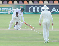 Johannesburg 20-12-18. South Africa Invitation XI vs Pakistan three-day match at Sahara Willowmoore Park, Benoni. Day 2.  South African bowler Tshepo Ndwandwa  during the afternoon session. Picture: Karen Sandison/African News Agency(ANA)
