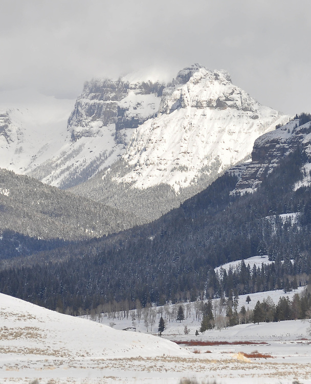 Mountains in Yellowstone