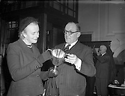 15/11/1956<br /> 11/15/1956<br /> 15 November 1956<br /> <br /> The Countess Donoughmore and Earl of Knocklofty, Grange, Clonmel, Co Tipperary present  Winner of National Egg Laying Competition