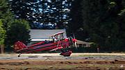 1928 Waco ATO on takeoff roll at WAAAM.