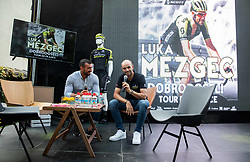 Marko Potrc at Reception of Slovenian rider Luka Mezgec after  he finished his first Tour de France 2020 and placed second at 2 stages, on September 21, 2020 in Joze Plecnik garden, Ljubljana, Slovenia. Photo by Vid Ponikvar / Sportida