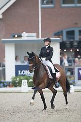 Merrald Nanna Skodborg, DEN, Goerklintgaards Quantico<br /> World Championship Young Dressage Horses <br /> Ermelo 2016<br /> © Hippo Foto - Leanjo De Koster<br /> 29/07/16