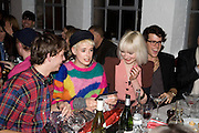 AGYNESS DEYN. Gap/ Red launch Dinner hosted by  Katie Grand at Bistrotheque. Bethnal Green. London. 29 November 2007.  -DO NOT ARCHIVE-© Copyright Photograph by Dafydd Jones. 248 Clapham Rd. London SW9 0PZ. Tel 0207 820 0771. www.dafjones.com.