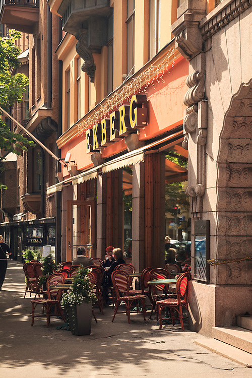Cafe Ekberg  in Helsinki, Finland. With a history dating back to the 1850s, Ekberg is considered a beloved veteran of the Finnish café and confectionary culture.