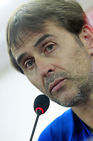 Spain's coach Julen Lopetegui in press conference before training session. October 5,2017.(ALTERPHOTOS/Acero)