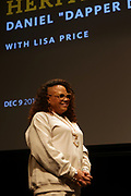 HARLEM, NEW YORK-DECEMBER 9: Lisa Price, Founder, Carol's Daughter attends the Heritage Series held at the Schomburg Center, a part of the New York Public Library on December 9, 2019 in Harlem, New York City.   (Photo by Terrence Jennings/terrencejennings.com)