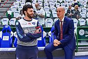 Edoardo Casalone, Giacomo Baioni<br /> Banco di Sardegna Dinamo Sassari - Umana Reyer Venezia<br /> LBA Serie A Postemobile 2018-2019 Playoff Finale Gara 3<br /> Sassari, 14/06/2019<br /> Foto L.Canu / Ciamillo-Castoria